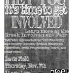Involvement Fair Flyer