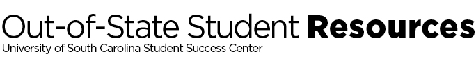Out of State Student Wordmark