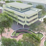 rendering of new health center